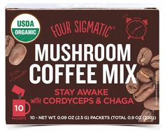 Four Sigmatic Giveaway Coffee Mix, Great Coffee, Health Diet, Health And Wellness, Wellness Mama, Low Acid Coffee, Raw Food Recipes, Healthy Recipes, Healthy Life