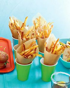 Get your fry fix with only 4 teaspoons of oil. These make-at-home versions of the drive thru favorite are better (and better for you) than their fast food counterparts.