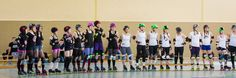 Scrimmage of Warsaw Hellcats Roller Girls + Riot Rocketz + Roller Derby Erfurt  Photo by https://www.facebook.com/UrbanSoulPhoto?fref=ts