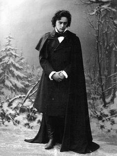 Leonid Sobinovas Lensky in the opera Eugene Onegin by Pyotr Tchaikovsky Bolshoi Theater, Russia — January 13th,1900