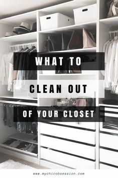 What to Toss from Your Closet for the New Year - MY CHIC OBSESSION