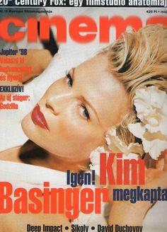 Kim Basinger, Deep Impact, David Duchovny Hungarian Magazine, 1998/5.