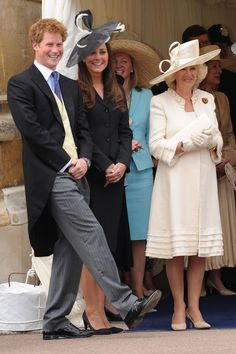 PRINCE HARRY'S SISTER-IN-LAW, CATHERINE, CAN'T SEEM TO KEEP A STRAIGHT FACE WHEN SHE'S AROUND HIM.    - TownandCountryMag.com