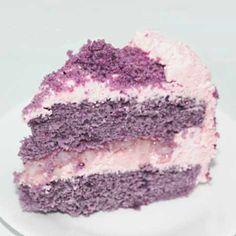 Ube Macapuno Cake | Flourtrader