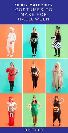 Expecting moms, check out these 10 costumes you can DIY for Halloween!