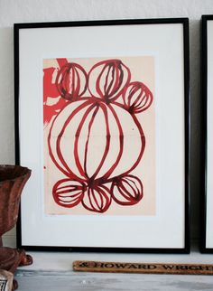 """Geometric Love No. 1"" by Australian artist Paula Mills"