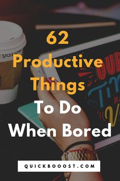diy to do when bored Looking for productive things to do when bored This is the place to be! these tips, tactics, and ideas to end your boredom, get stuff done, and have a productive day! Time Management Activities, Time Management Printable, Good Time Management, Productive Things To Do, Things To Do At Home, Productive Day, Things To Do When Bored, Getting Things Done, Get Stuff Done
