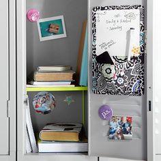 Gear-Up Bright Blooms Locker Dry-Erase Pocket #pbteen