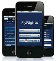 Want to report TSA Abuses? There's an app for that!