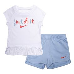 Toddler Outfits, Kids Outfits, Baby Kids, Baby Boy, Toddler Girls, Baby Girl Nike, Nikes Girl, Baby Clothes Shops, Babies Clothes