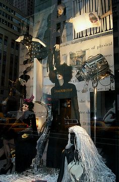 Vogue window display at Bergdorf Goodman photo by Viridia