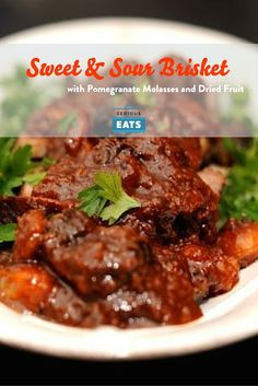 Brisket, Pomegranates and Dried fruit on Pinterest