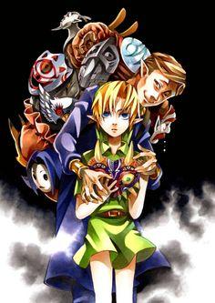 Majora's Mask Majora Mask, Girl Gamer, Legend Of Zelda Memes, Ben Drowned, Hero Time, Link Zelda, Fan Art, Twilight Princess, Breath Of The Wild