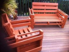Outdoor Furniture from Pallet
