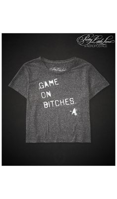 7911fe68 Pretty Little Liars Game On Boxy Crop Graphic T - Aéropostale® Pll Outfits,  Cute