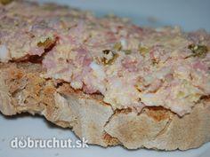 Fotorecept: Nátierka z údeného mäsa