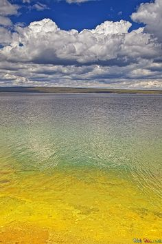 Yellowstone Lake, Yellowstone National Park, Wyoming
