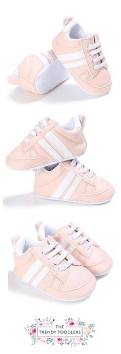 Need a new pair of shoes? SALE 35% OFF + FREE SHIPPING! SHOP Our Classic Pink Sneakers for Baby Girls