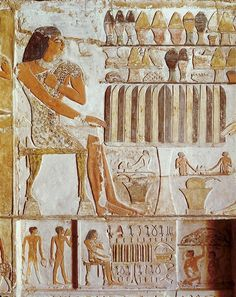 Tomb Of Nefer. 24th C. Bc. Egypt
