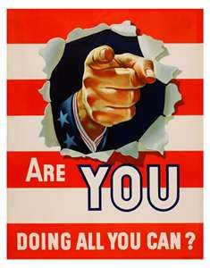 ... Doing All You Can? - USA Propaganda Posters - World War II and Others