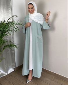 Modest Fashion Hijab, Modern Hijab Fashion, Modesty Fashion, Hijab Fashion Inspiration, Islamic Fashion, Abaya Fashion, Muslim Fashion, Fashion Outfits, Abaya Designs Latest