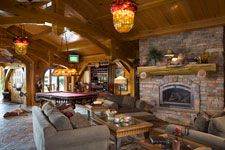 Timber Frame, Recreation Room, Home