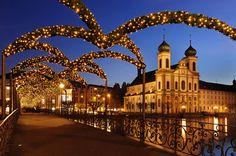 Noël in Luzern, Switzerland