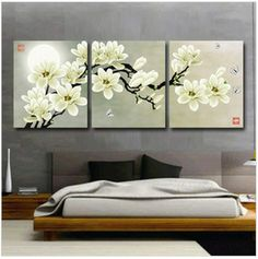 Factory Shop Free Shipping Cross Stitch Kit 3D Solid Triplet White Flower Tree Hot Sell