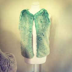 Gorgeous mint green gilet by Blanche in the Brambles