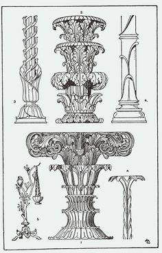 Vintage Ephemera: Ornamental designs 4 - 1898