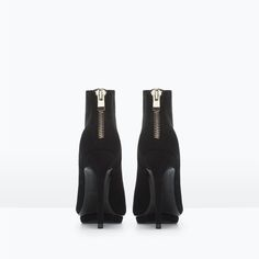 Image 3 of High heeled platform ankle boot from Zara