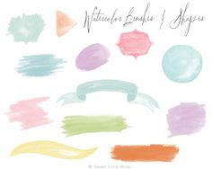 Check out Watercolor brushes for Photoshop by SweetLittleMuse on Creative Market