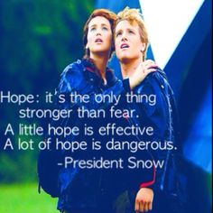 Favorite Quote from Hunger Games.