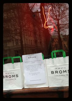 K Locals ♥ Broms. Watch out for their new Chambré Separée cellar across the street, to open very soon!