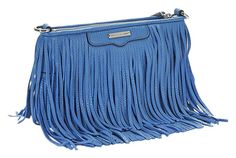 Rebecca Minkoff Finn Fringe Demin Leather Blue Cross Body Bag. Get the trendiest Cross Body Bag of the season! The Rebecca Minkoff Finn Fringe Demin Leather Blue Cross Body Bag is a top 10 member favorite on Tradesy. Save on yours before they are sold out!