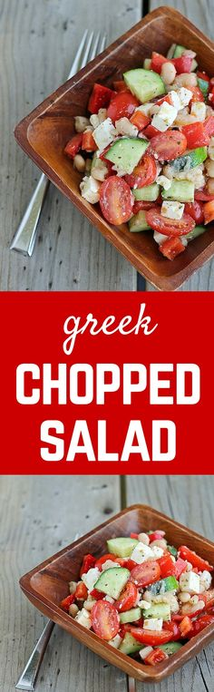 This Greek chopped s