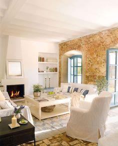 Interior Decorating, Home Design, Room Ideas: Rustic Home in Spain