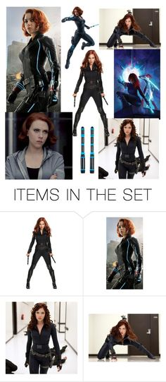 """Natasha Romanoff A.K.A Black Widow"" by shadow-948 ❤ liked on Polyvore featuring art"