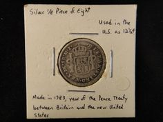 Lot 156: 1783 Spanish Silver 1 Reale Coin - Chumney House Auctions, LLC | AuctionZip