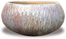 CH1349-1351 Carved Low Bowl Planter