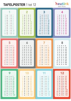 Multiplication Chart Printable, Kids Going To School, Flashcards For Kids, Math Sheets, Maths Solutions, Math Addition, School Posters, Teachers' Day, School Hacks