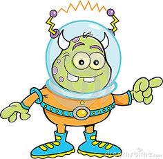 Resultado de imagem para alien cartoon characters