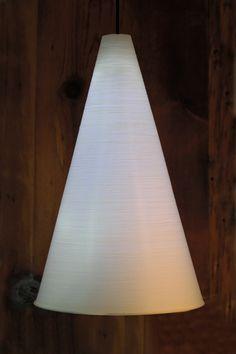 Coney 3D printed pedestal light fitting