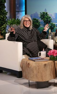 """Diane Keaton Plays """"Who'd You Rather?"""" on Ellen, Hints She May Have Had a Fling With Leonardo DiCaprio"""