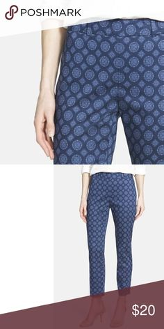 NYDJ Print Stretch Denim soft, flattering, comfortable, mid-rise, print denim, worn a few times but great condition  ⁉️I'm happy to answer all your questions, please ask them before you buy so I can make your purchase in my closet absolutely perfect. NYDJ Pants