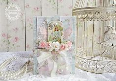Вдохновение с Bee Shabby от Насти Золотаревой Shabby Chic Cards, Beautiful Handmade Cards, Decorative Boxes, Scrap, Home Decor, Decoration Home, Room Decor, Tat, Interior Design