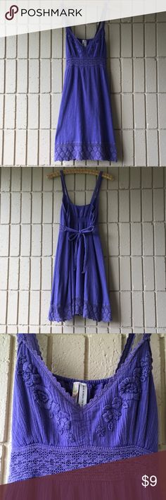 Adorable Little Purple Dress Super comfortable and cute dress.  No need for a bra.  Just throw it on and run your errands, hit the beach, or farmers market. O'Neill Dresses Mini