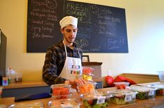 2014 SCORE Young Entrepreneur Awardee: Noam Kimelman, Fresh Corner Café #smallbusiness #smallbiz #smallbizstory #SCORE