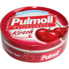 PULMOLL Hustenbonbons Wildkirsch+Vit.C zuckerfrei:   Packungsinhalt: 50 g Bonbons PZN: 03342623 Hersteller: sanotact GmbH Preis: 1,46 EUR…