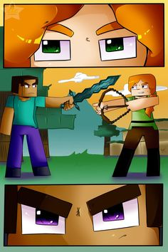 Steve Meets Alex by CIC-Studios on DeviantArt